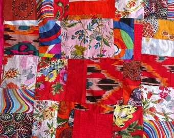 New: Small piece of Red Red multicolor patchwork