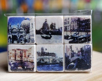 Venice Italy Magnet Collection - set of 6