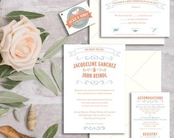 Brewery Wedding Invitations, Beer lovers Wedding Invitations, Love is Brewing Wedding Invitations, For the Love of Beer Wedding Invitations
