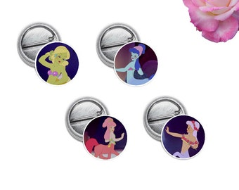 "Centaurettes Mini 1"" inch Pinback Button OR Magnet"