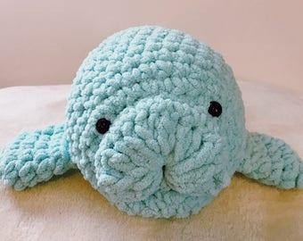 Cuddly Crochet Sea Cow