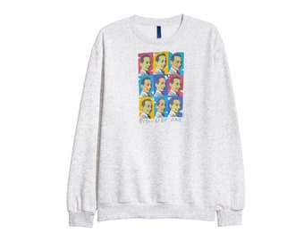 Pee-wee Herman Tim burton sweatshirt sweater RETRO 90s