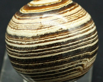 Aragonite Sphere, Morocco - Mineral Specimen for Sale