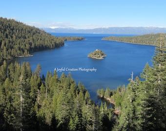 Lake Tahoe - Lake Tahoe photo - Lake Tahoe California - Emerald Bay - Emerald Bay photo - Lake - Lake photo - Emerald Bay Lake Tahoe photo