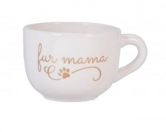 Fur Mama Large Cappuccino Mug