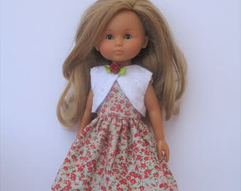 Clothes for Corolle Les Cheries Doll Dress and Jacket