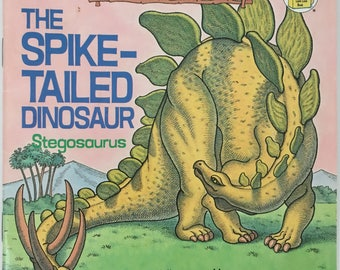 The Spike-Tailed Dinosaur, 1989 paperback, I love Dinosaurs, by Michael Berenstain