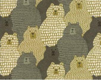 Big Sky by Annie Brady for  Moda - Grizzly - Tan Brown - FQ Fat Quarter Yard Cotton Quilt Fabric