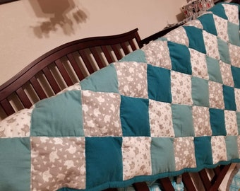 Made to Order ~ Small Weighted Blanket ~ Sensory, Therapy, Insomnia, Throw, Crib, Lap Quilt, Made to Order