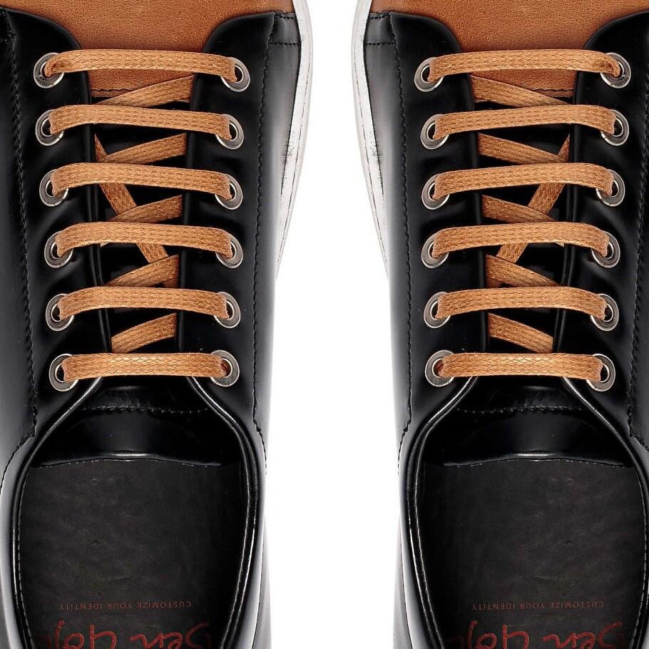 Bureau de chaussures chaussures hommes en cuir en verni noir, cuir noir chaussures, bureau Sneakers en cuir cuir verni noir hommes chaussures, Bureau 5ee97a