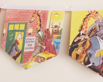 Little Golden Book Bunting - Animal Orchestra