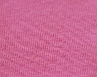 KNIT Fabric: Pink Cotton Lycra knit