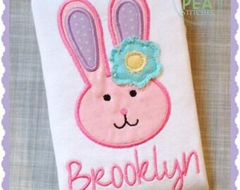 Girls Easter Shirt - Easter Bunny Shirt - Baby Easter Shirt - Baby Bunny Shirt - First Easter Shirt - Personalized Easter Shirt - Girl Bunny