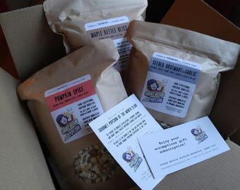 Gourmet Popcorn of the Month Club Subscription - Karen's Exceptional Small-Batch Recipe - Buttery, Crunchy & Delicious - Vermont Crafted