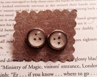 Harry Potter Star Earrings / Literary Jewelry / Harry Potter Earrings / Book Lover Gift / Bookish Earrings Star Jewelry / Bookworm Gift