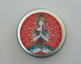 Peace & Love Solid Perfume, Solid Perfume, Perfume, Natural Perfume, Valentine's Day Gift,  Gifts for Her, Fragrance, Essential Oil Perfume