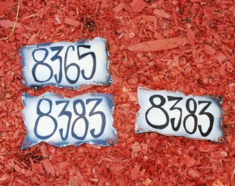 Custom Address Number Signs: Charming as Pie Address Plaque