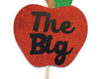 Photo Booth Prop Set - The Big Apple-New York-Photo Booth Prop with GLITTER