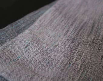 Gray city handwoven wrap