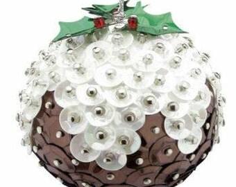 Christmas Pudding Pinflair Kit