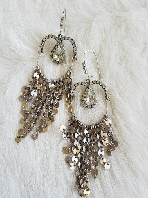 Shimmery Duster Earrings