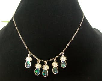 Necklace + Earring silver