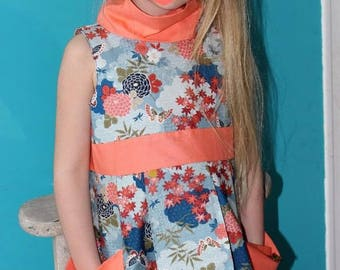 Dress Alba available from 2 to 10 years