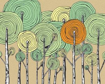 Herbst-Print
