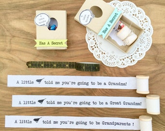 Pregnancy Announcement, Baby Announcement, Pregnancy Reveal to Grandparents, Grandma Gift, Grandpa Gift, Sister Gift, Personalized Gift