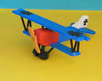 Fokker D.VII Toy Airplane