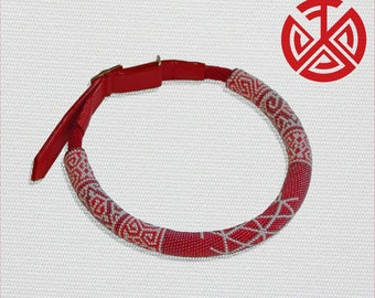 Collar БОГОЛЕПА. Slavic talisman for dogs all breeds
