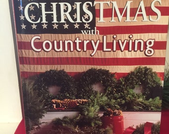 Vintage Christmas Country Living Book