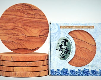 Sandstone Coasters Set of Five