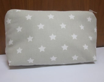 Zippered bag, zipper pouch, carrying case, perfect for carrying inside the bag, to keep the makeup, for baby