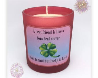 Best Friend Scented Soy Candle