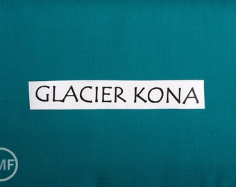 19 Inch End of Bolt Remnant Glacier Kona Cotton Solid Fabric from Robert Kaufman, K001-146