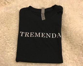 latina- inspired tremenda  shirt