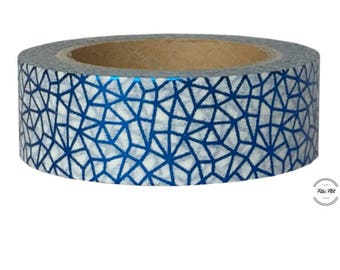 Washi Tape PATTERN WEB BLUE