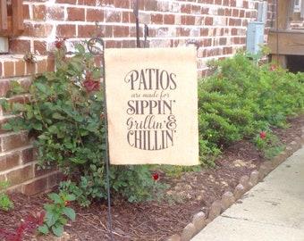 Outdoor Garden Flag/Patio Garden Flag