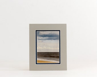8x10 Single or Double Photo Mat - Fits 5x7 or 4x6 - Frame Ready  - Custom Colors