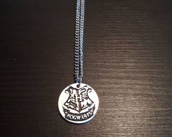 Hogwarts Coat of Arms Necklace