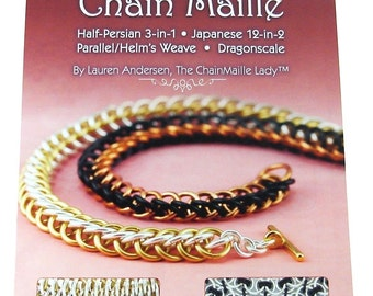 Advanced Chain Maille Book by The ChainMaille Lady Autographed Copy