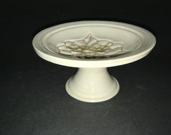 Soap Dish on Pedestal