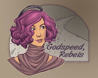 Godspeed Rebels Small Print (Item 03-413-AA)