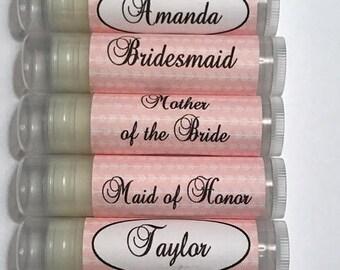 Baume à lèvres Bachelorette, Bachelorette Party Favors, Bridal Party personnalisé baumes pour les lèvres, baumes pour les lèvres Kit de survie