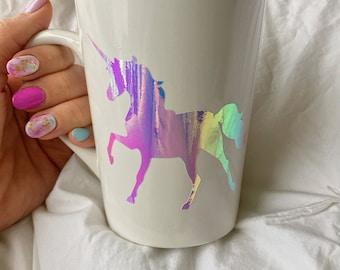 Holographic Unicorn Coffee Mug