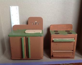 Miniature Sink & Stove