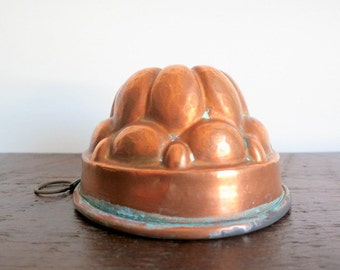 Antique Copper Baking Mold