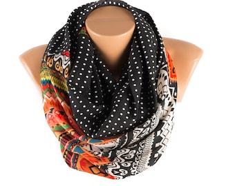 SALE- Woman infinity scarf, loop scarf, circle scarf, scarf