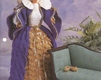 Crochet Pattern Crochet Barbie Doll Clothes Pattern Fashion Doll Clothes